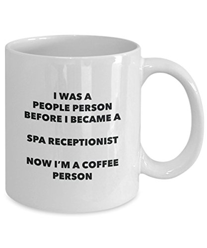 Spa Receptionist Coffee Person Mug