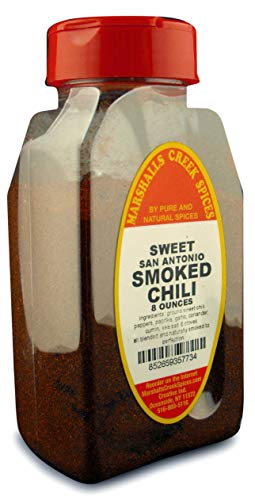 Marshalls Creek Spices (st01) SMOKED SWEET SAN ANTONIO CHILI BLEND 8 oz. -
