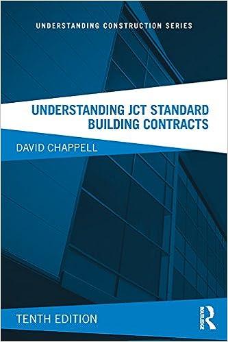 Understanding Jct Standard Building Contracts Understanding