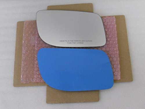 New Replacement Mirror Glass with FULL SIZE ADHESIVE for Lincoln MKS Passenger Side View Right RH