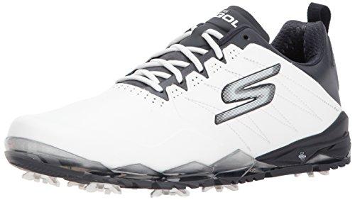 Skechers Performance Men's Go Golf Focus 2 Golf Shoe,White/Navy,10.5 M US