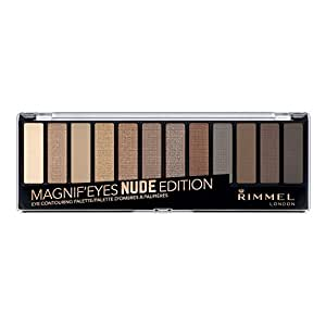 Rimmel Magnifyeyes Eye Palette, Keep Calm and Wear Nude, 0.5 Ounce