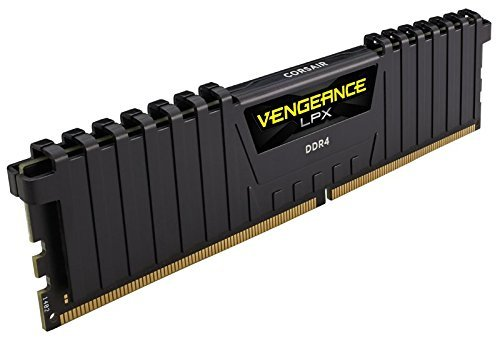 Corsair Vengeance DDR4 DRAM Desktop Memory 4GB Kit (1x4GB) CMK4GX4M1A2400C14