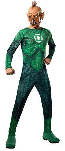 Rubie's Costume Co Men's Green Lantern Movie Tomar-Re Adult Costume, Green, Medium
