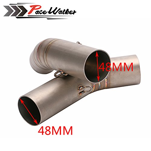 Motorcycle Motorbike middle of the exhaust pipe motorbike mid pipe for Ducati 795 796 848