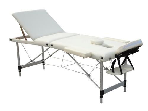 Alu Luxus Massagetisch Massageliege Massagebank 3 Zonen