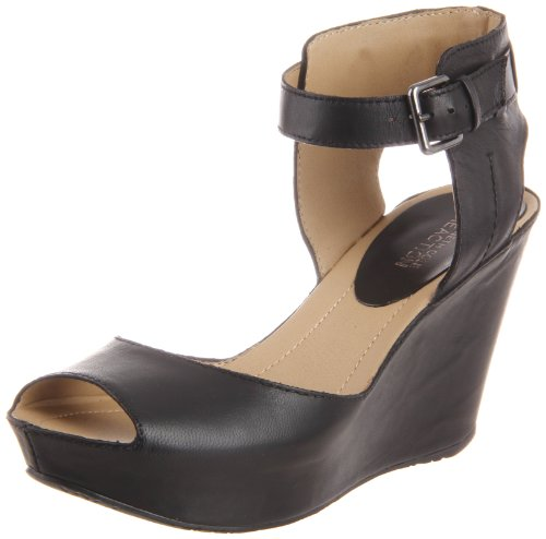 Kenneth Cole Reazione Womens Sole My Sandalo Con Zeppa Cuore Nero