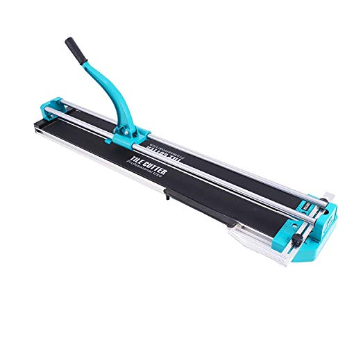 (Mophorn Tile Cutter Manual 40 Inch Adjustable Laser Guide Tile Cutter Pro Heavy Duty Tile Cutter Machine for Preciser Cutting of Porcelain Ceramic Floor Tiles (40 Inch))