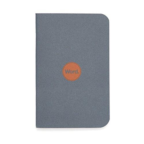 Word. Notebooks Denim - 3-Pack Small Pocket Notebooks
