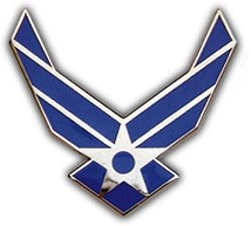 (Air Force Logo Small Pin)