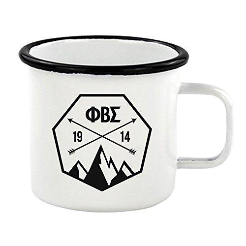 Phi Beta Sigma Metal Camping Mug