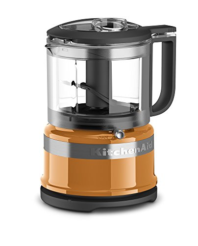 KitchenAid 3.5 Cup Mini Food Processor - Tangerine Orange