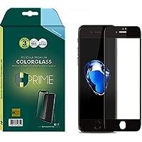 Pelicula de Vidro Temperado 9h ColorGlass 6D para Apple iPhone 7 Plus/8 Plus - Preto, HPrime, Película Protetora de Tela…