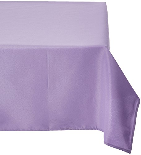 Linentablecloth 60 x 102 inch rectangular polyester for 102 inch table runners