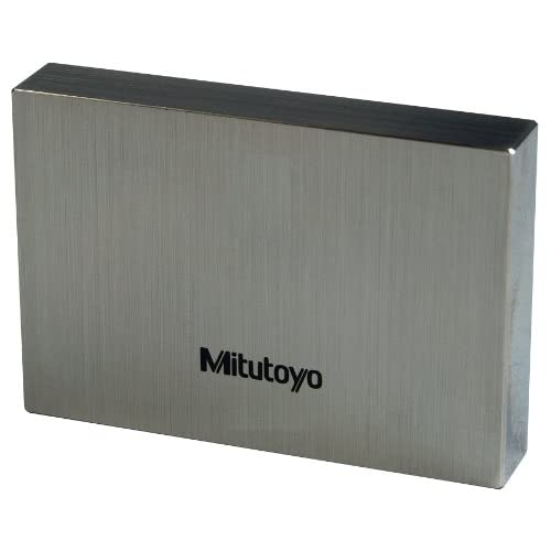 Mitutoyo Steel Rectangular Gage Block, ASME Grade 00, 1.0005 mm Length