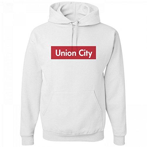 Comfy Union City Supreme Pride: Unisex Jerzees Heavyweight Hoodie