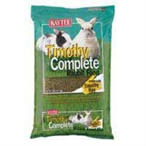 Kaytee Timothy Complete Diet For Rabbit, 10-Pound
