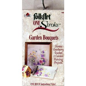 Folk Art One Stroke: Garden Bouquets ()