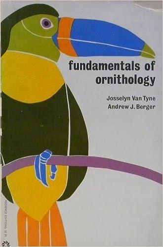 FUNDAMENTALS OF ORNITHOLOGY PDF DOWNLOAD