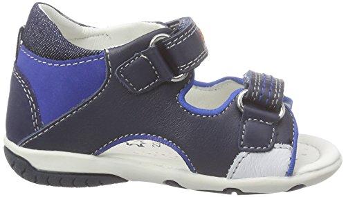 Geox B Sandal Elba Boy C - Sandalias Bebé-Niñas Azul - Blau (NAVY/ROYALC4226)