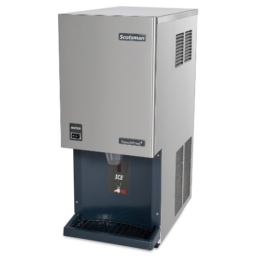 Scotsman Ice Machines Dispensers - Scotsman - HID312A-1 - Ice Maker and Dispenser, 12 lb Storage