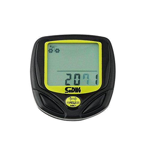 Wireless Bicycle Cycling Bike Computer Speedometer Odometer