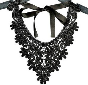 Amazoncom Fashion Ladies Crochet Lace Pattern Collar Necklace