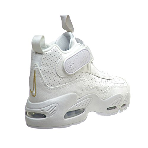 pretty nice 86081 5465b Nike Air Griffey Max 1 (GS) Big Kid s Shoes White Blue Metallic