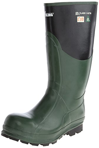 Viking Footwear Journeyman Waterproof Boot,Green/Black,11 M US