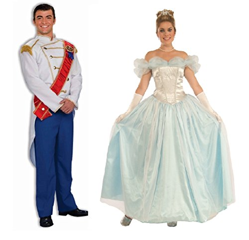 Happily Ever After Prince Charming and Princess Couples Costumes by Faerynicethings