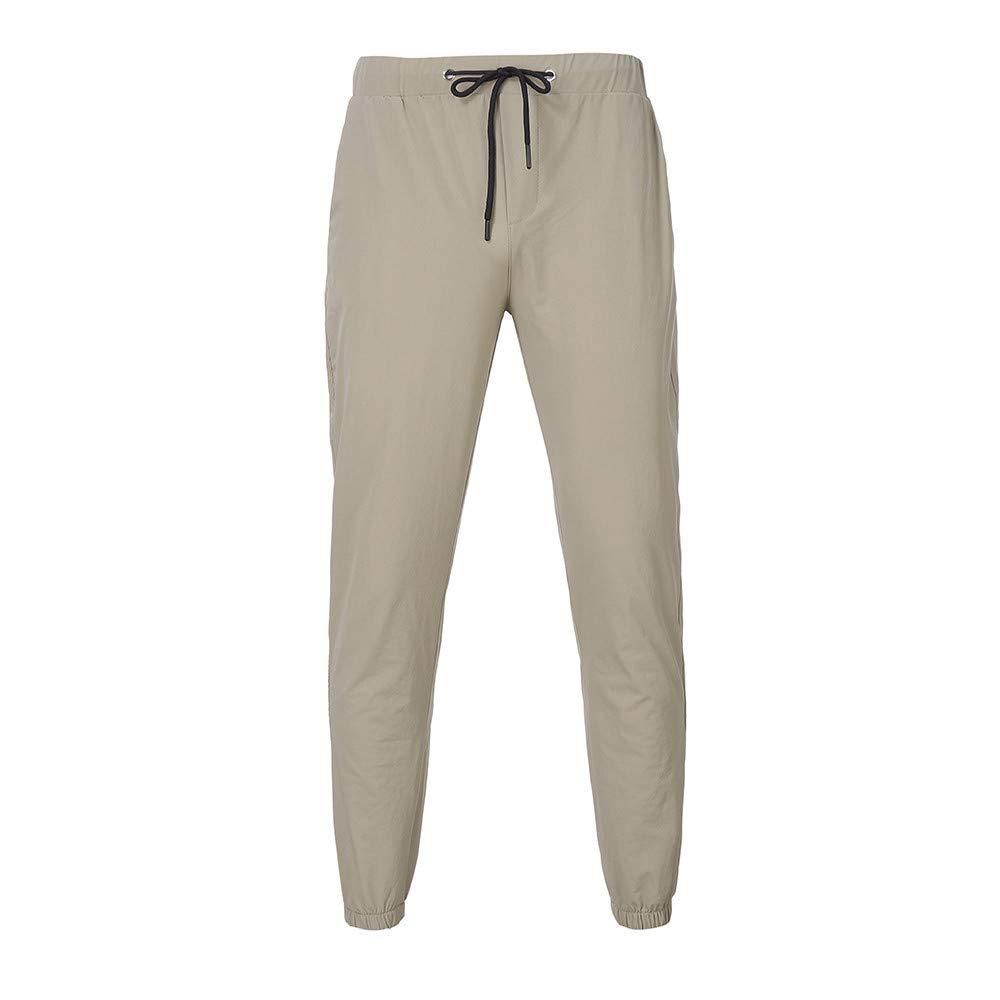 Mens Casual Jogger Pants Active Basic Sweatpants