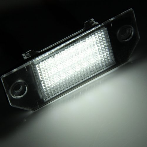 R TOOGOO 2 X Light lighting Of Plate White