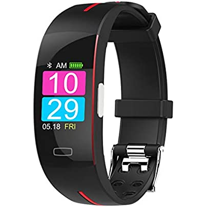 HFXLH plus blood pressure wrist band heart rate monitor ECG smart bracelet watch Activit fitness tracker health wristband Estimated Price £79.94 -