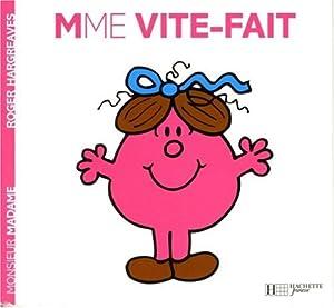 "Afficher ""Monsieur Madame n° 33 Mme VITE-FAIT"""