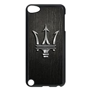 Maserati logo-004 For ipod 5 Cell Phone Case Black Protective Cover xin2jy-4341046