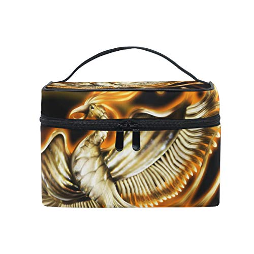Toiletry Bag Multifunction Cosmetic Bag Portable Toiletry Case Waterproof Travel Organizer Bag for Women Girls - Strap Set Firebird