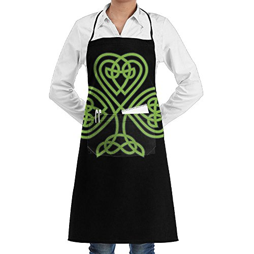 LCZ St Josephs Subiaco Saint Patrick's Day 2016 Fashion Waterproof Durable Apron With Pockets For Women Men Chef ()
