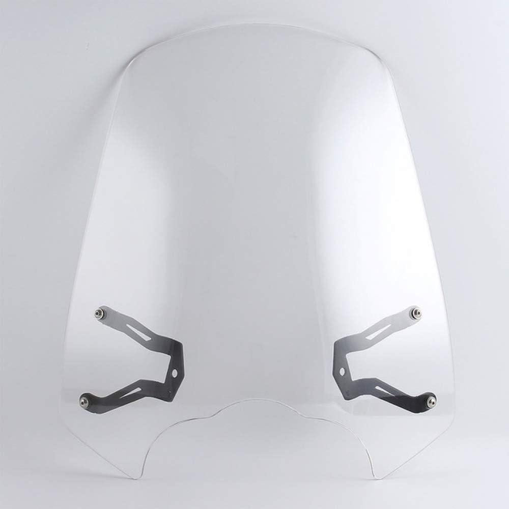 QOHFLD Parabrisas de la Motocicleta paraKawasaki Vulcan S 6502015-2018, Motocicleta Parabrisas Touring de Nueva generación Parabrisas con Soporte