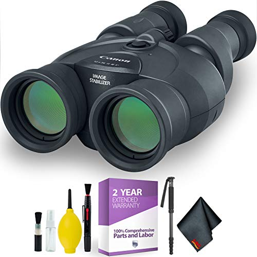 Canon 12x36 is III Image Stabilized Binocular + Cleaning Kit + 2 Year Extended Warranty