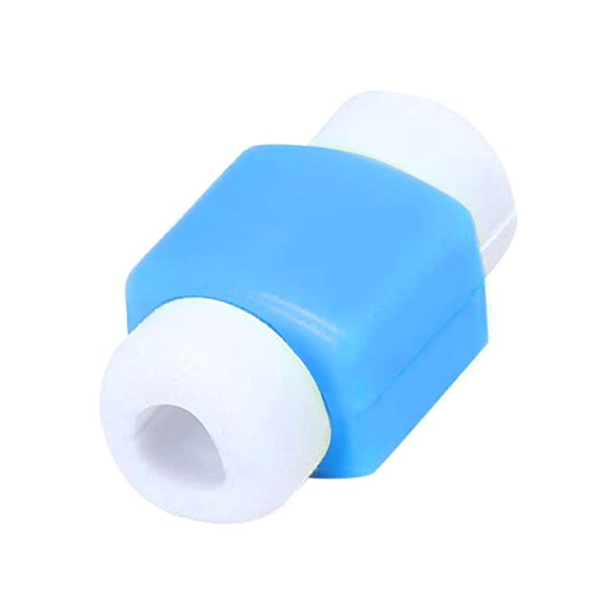 Cubiertas Protectores De Cable Mini Funda De LíNeas Cargador USB para iPhone iPad Ordenador Movil,ZARLLE Funda con Tapa para Cable De Datos Y Cable USB (1.8 ...