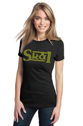 SKAL Ladies' T-shirt / Scandinavian Beer Drinking Cheers Tee Shirt
