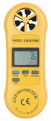 Reed Instruments Rotating Vane Anemometer