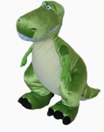 Amazon Com Disney Toy Story 24 T Rex Jumbo Plush Toys Games