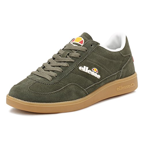 Shfu0295 Ellesse Green Military gum fr gum Green Sneakers Calcio military pRwq6