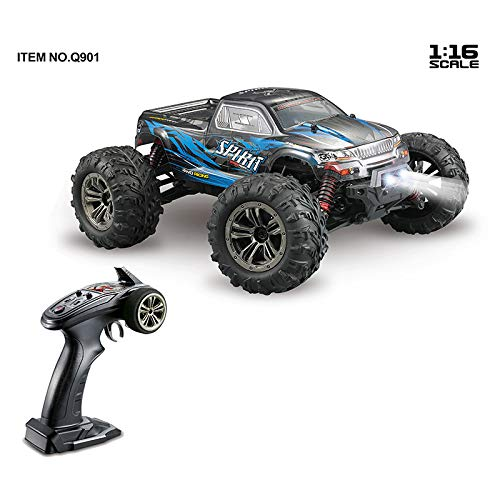 1 16 Brushless Allrad High-Speed-RC-Car-Spielzeug Rot Blau