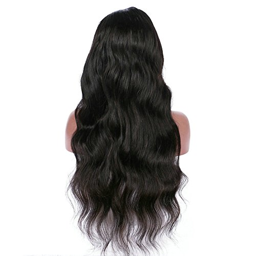 Clearance Sale!DEESEE(TM)Curly Wig Glueless Full Lace Wigs Black Women Indian Remy Human Hair Lace Front -