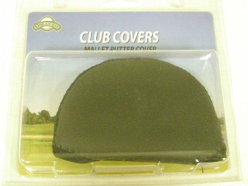 OnCourse Mallet Putter Cover Neoprene Black Golf ()