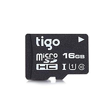 RETGHGTHJHT Tigo - Tarjeta de Memoria Micro SD (16 GB, Clase ...