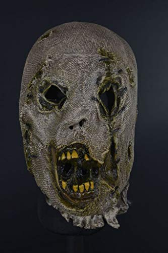 Gatton Distortions Unlimited Collection Scarecrow Halloween Mask Costume