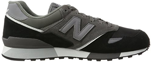 New Balance Mens U446lgk Grey/Black 1TX7Mr5p